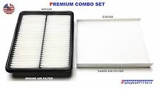 COMBO SET Air Filter & Cabin Air Filter for 2014 2015 Kia Sorento AF6320 C36158