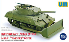 Unimodel 1/72 M10A1 Tank Destroyer (Late) with M1 Dozer Blade # 229