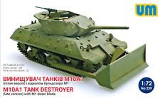 UNIMODEL 1/72 M10A1 Tank Destroyer (late) con M1 DOZER BLADE # 229