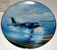Hawker Siddeley Harrier, The Classic Raf Aircraft Plane, Danbury Mint Plate