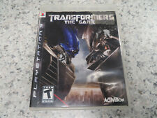 Transformers the Game/Movie (Sony PlayStation 3, 2007) * PS3