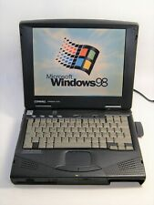 Vintage Compaq Armada 1750 - Intel Pentium IIe 300 MHZ - Win 98 - Wifi