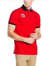 Polo Hombre Hackett London Aston Martin Racing, Color Rojo, Talla S