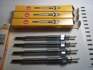 4 X NGKY-541J Glow-Plugs CHEVROLET, HONDA, Vauxhall / Opel 1.7 CTDi
