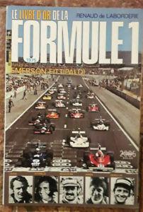 AUTO: LE LIVRE D'OR DE LA FORMULE1 1975-RENAUD DE LABORDERIE-EMERSON FITTIPALDI