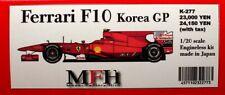 1/20 Ferrari F10 - 2010 Korean GP - Model Factory Hiro Resin kit
