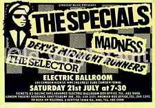 The Specials concert poster Electric Ballroom Camden UK 1979 Repro..