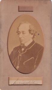 Benjamin Disraeli – British Prime Minister – Authentic Signature