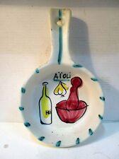Ancien petit poélon en céramique des années 1950, F.P.R, Vallauris, France X..7
