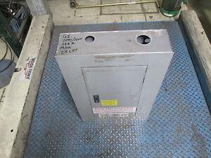 GE Main Breaker Circuit Breaker Panel AQF3241AT 125A Max 208Y/120V 3Ph 4W Used
