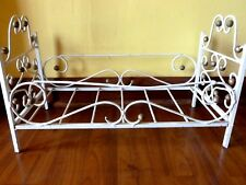 old metal babydoll bed Frame