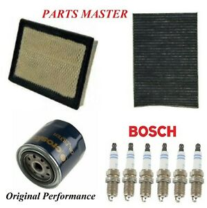 Tune Up Kit Air Cabin Oil Filters Spark Plug For DODGE CHARGER V6;2.7L 2006-2007