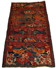 "Caucasian-Seychour Antique rug Rare Design - 3'5"" x 5'6"""