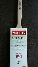 """Wooster 2"""" Silver Tip Angle Sash Paintbrush 5221"""