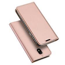 Handyhülle Samsung Galaxy J3 2017 Handy Schutz Hülle Flip Tasche Case GLASFOLIE