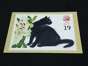 Cats (  Sophie  )1995 Royal Mail Stamp Postcard