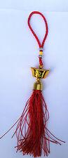 TALISMANO priction Amuleto Cinese Feng Shui Fascino Anello porta appesi attrarre fortuna