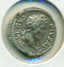 Septimius Severus Denarius 193-211 VF Dea Caelestis Indulgentia Avgg Incarth