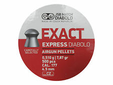 JSB EXACT EXPRESS DIABOLO 4.52 mm .177 500 pcs. 0.510 g 7.87gr Air rifle Pellets