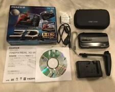 Fujifilm FinePix Real 3D W3 Digital Camera W/Box CD Used Ex++