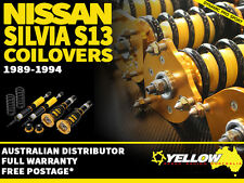 YELLOW-SPEED RACING COILOVERS Nissan Silvia S13 89-94 yellowspeed coil over