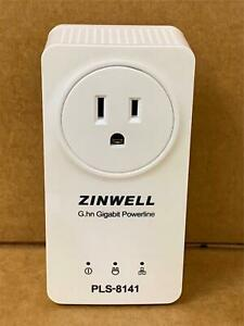 Zinwell G.GH Gigabit Powerline Ethernet Adapter PLS-8141 Gigabit Powerline
