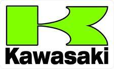 "#632 (1) 4.5"" Kawasaki K Over Gloss Racing Retro Decal Sticker Laminated"