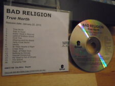 RARE ADVANCE PROMO Bad Religion CD True North PUNK Minor Threat Circle Jerks !
