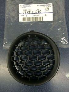 2008-2014 Subaru Impreza Left Drivers Fog Light Cover Grille BLACK OEM NEW LH