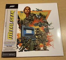 "Metal Gear OG NES Video Game ST 10"" LP SPLIT COLOR Vinyl Mondo /1,000 Nintendo"