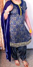 L Size 44 Readymade Stitched Salwar kameez Suit Bollywood Ethnic Dress Saree