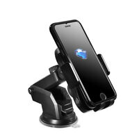 Smart Car Bluetooth Wireless Charger Mount With Type-C Data Cable Phone Holder