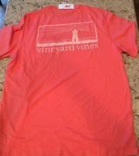 NWT Vineyard Vines Mens PINK SALMON VINTAGE T-Shirt USA  LARGE FASTEST SHIP