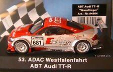 AUDI TT-R ABT #681 ADAC WESTFALENFAHRT WENDLINGER 1/43 SCHUCO 04904