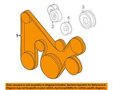 MITSUBISHI OEM 04-06 Montero-Serpentine Drive Fan Belt MN155725