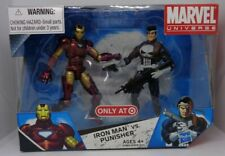 Hasbro Marvel Universe 2009 002 IRON MAN vs PUNISHER Figures MISB Target