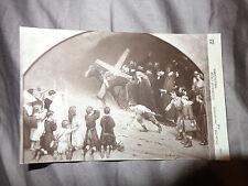 STONING  JESUS CHEMIN DE CROIX JEAN BERAUD 1912 CRUCIFIXTION A. NOYER FRANCE