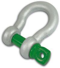 Grillete de arco de aleación 0.75 T Verde Pin Tornillo Pin (probados)