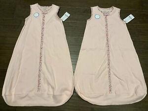 Sleep Sack Carter's Baby Sleepbag Solis Pink 2-pack Medium 6-9 Months Sleeveless