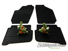 4 x Gummi-Fußmatten ☔ für SEAT Cordoba II und Ibiza III 2002 - 2008