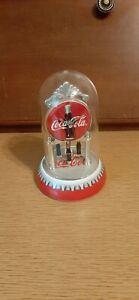 COCA COLA dome clock