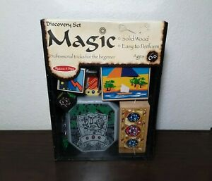 Melissa & Doug Magic Discovery Beginner Set- Solid Wood- Ages 6+