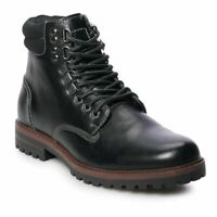 NIB NEW Men's SONOMA Goods for Life Paxton Waterproof Ankle Boots Shoes Black