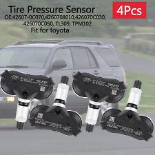 4pcstpms Tire Pressure Sensor For Toyota Sequoia Sienna Tundra 42607 0c070 Tl309