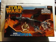 Star Wars Revenge of the Sith Boga w/Obi Wan Kenobi Set w/Rearing Attack