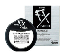 Santen FX NEO Cooling Eye Drops 12ml SUPER COMFORT Imported from Japan US SELLER