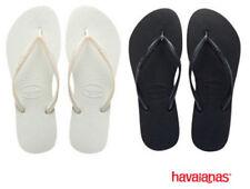 Sandalias y chanclas de mujer de color principal blanco de goma