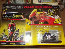 YAMAHA YZR-M1 WORLD CHAMPION 2008-VALENTINO ROSSI-LE MIE MOTO-1 18-DIECAST MODEL