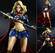 Square Enix DC Comics Variant Play Arts Kai Supergirl PVC Figure INSTOCK Genuine