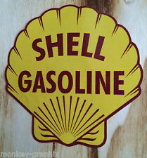 "Oldschool Sticker "" Shell Old  ""  Aufkleber Ratstyle Youngtimer Ratte Käfer Bug"